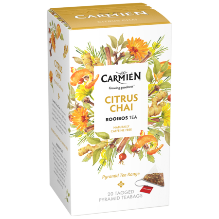 Citrus Chai Pyramid Tea
