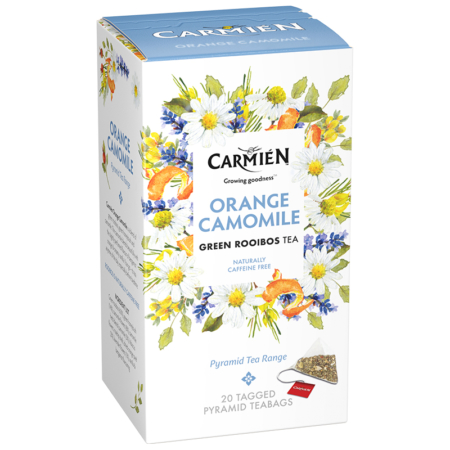 Orange Camomile Pyramid Tea