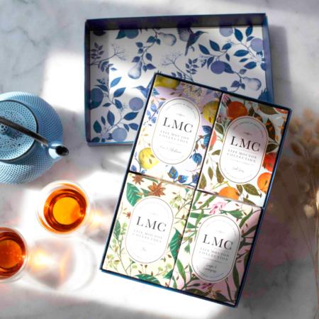 LMC gift box with 4 teas new