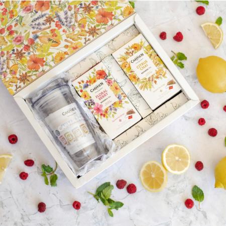 tea on the go gift box pyramids