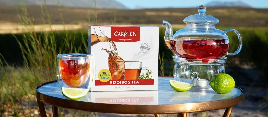 rooibos health benefits backed by evidence - blog post - carmien tea